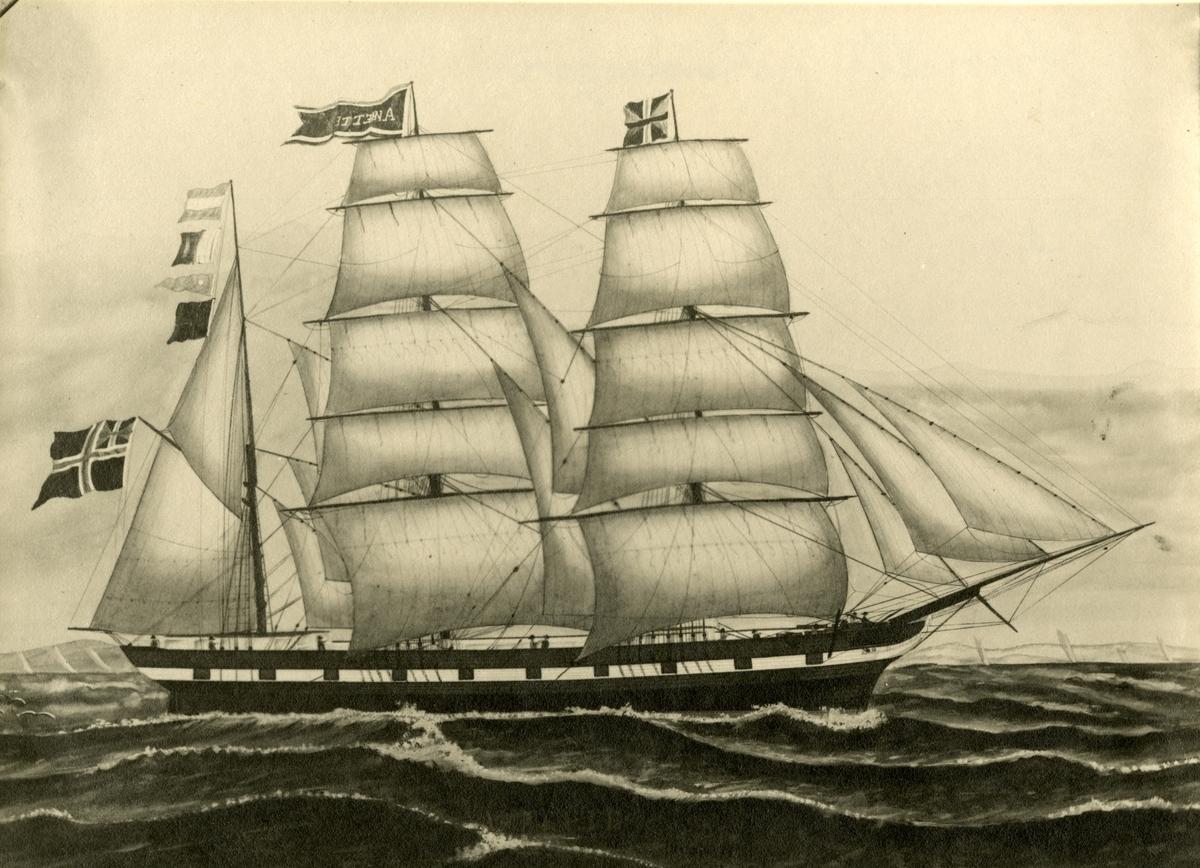 Bark 'Anette' (b.1856, Curzola, Østerrike-Ungarn)