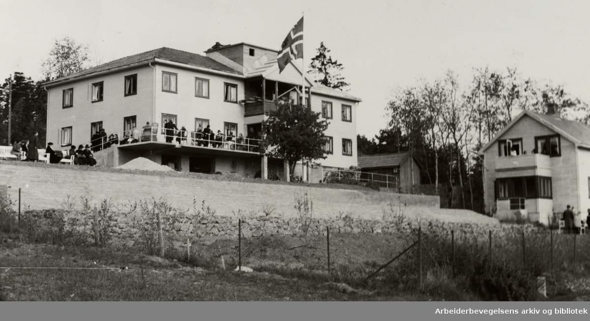 Høyenhall. Pleieavdeling. Mai 1946