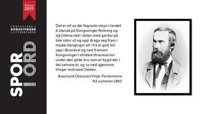 SPOR I ORD - Aasmund Olavsson Vinje (Foto/Photo)