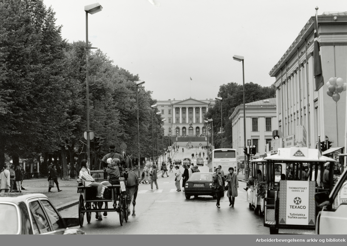Karl Johans gate. 14. august 1993