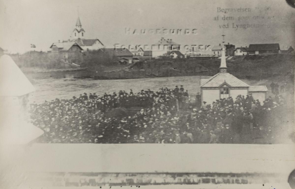 Hauge sett mot nordvest, 1906.
