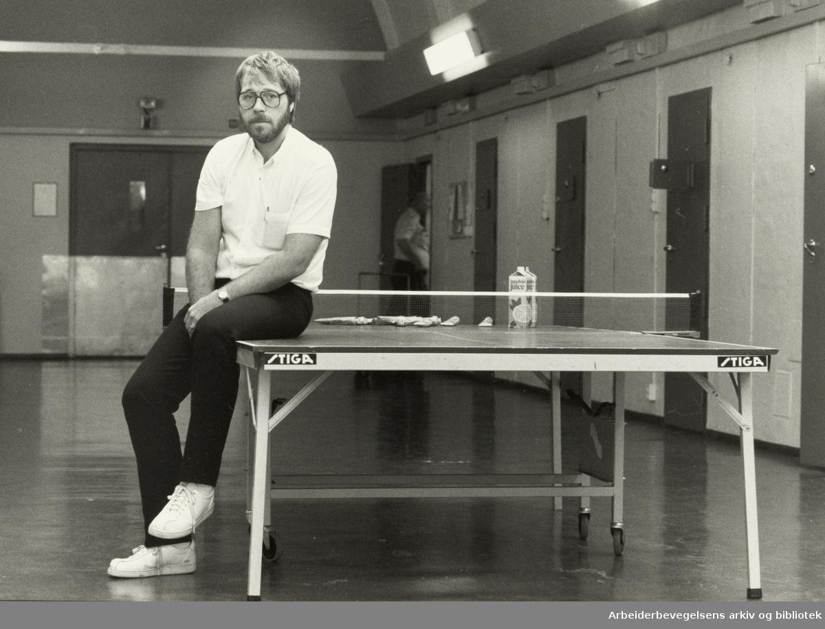 Kretsfengselet, Botsfengselet. Roar Øvrebø, leder for Oslo fengselsfunksjonærers forening. August 1985