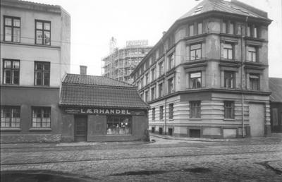 Hjørnet av Vognmannsgata og Persgangen. Foto/Photo