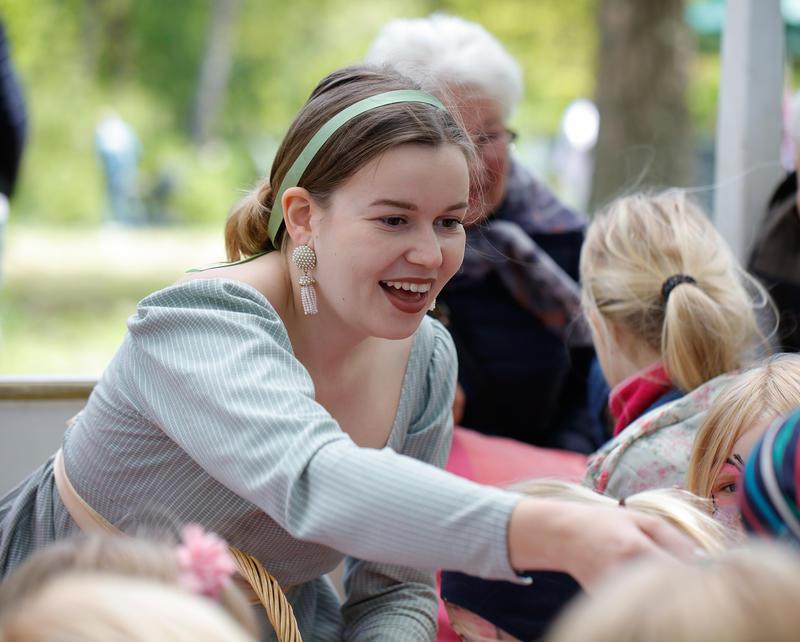 Helene Herskapsfrøken, familietilbud for barn på Bogstad Gård (Foto/Photo)