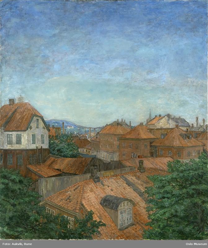 Anders Svarstad: Hammersborg, 1912