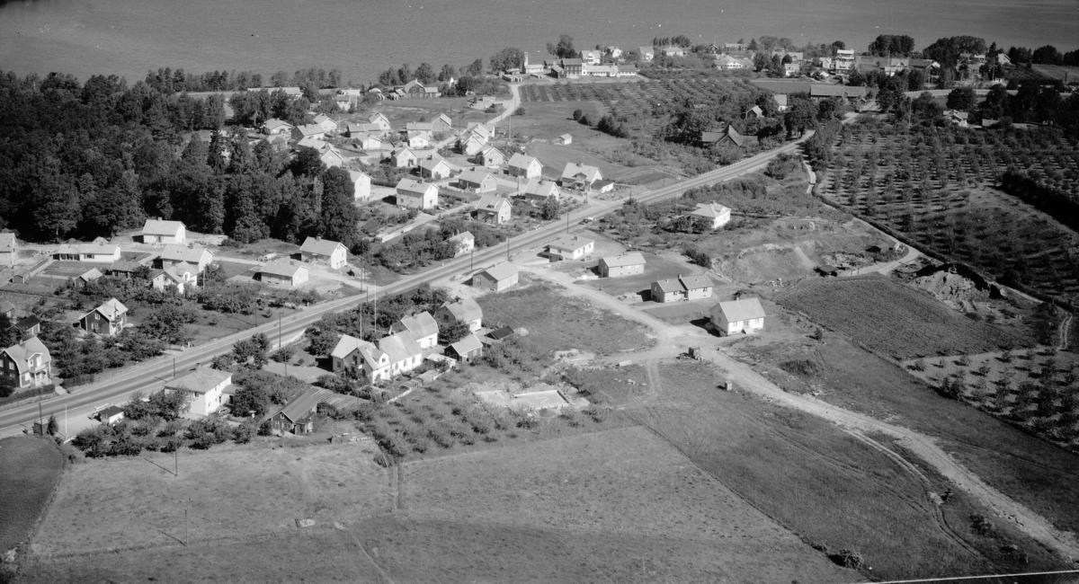 Flygfoto över Kaxholmen i Jönköpings kommun. Nr: 279/1959