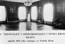 """Kronohuset i Kristianstad, """"Kronsalen""""."""