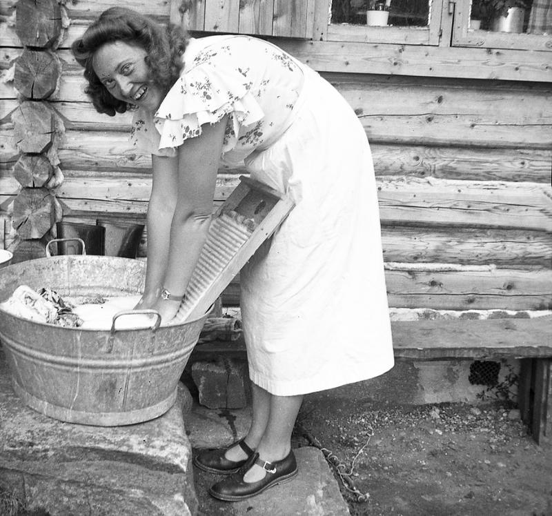 Foto av Fritjof Arentz, 1940. (Foto/Photo)