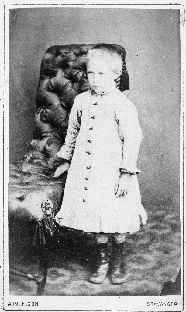 Kristina Fosse, dotter til lærar Ingebret Fosse (1877 - 1942)