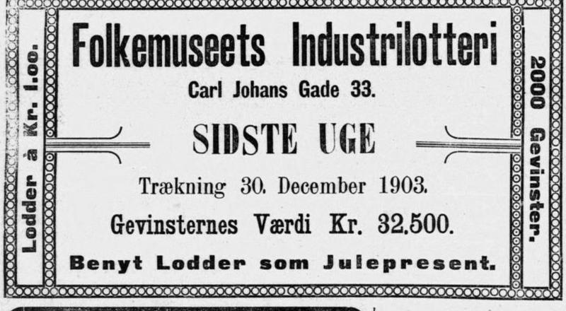 Lotteri 1903