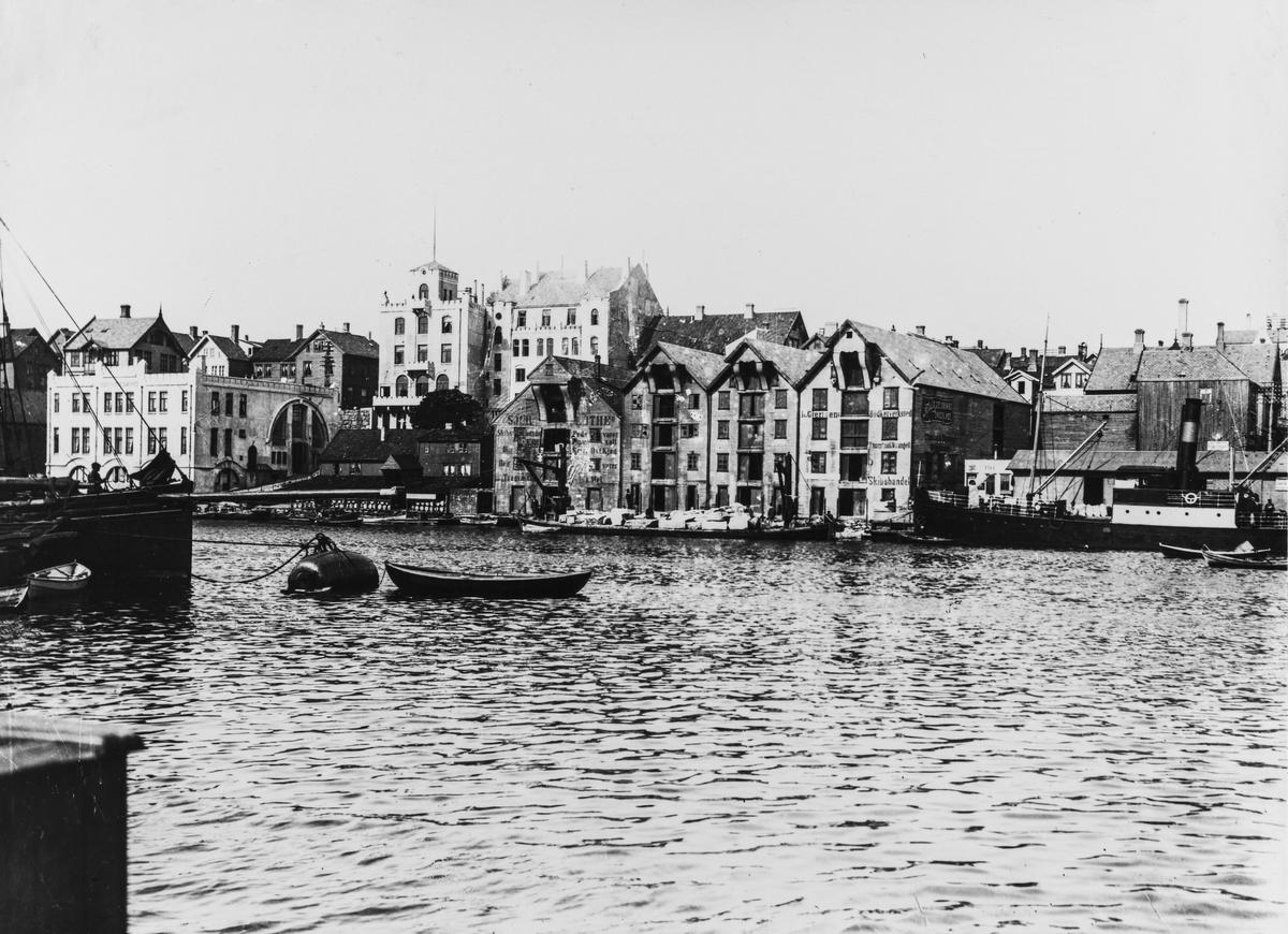 Smedasundet sett mot nordøst, ca. 1910.