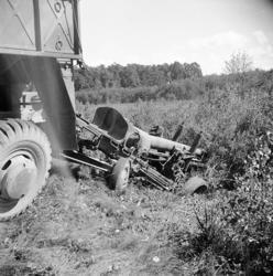 Haubits m/1939. 15 cm, i diket.