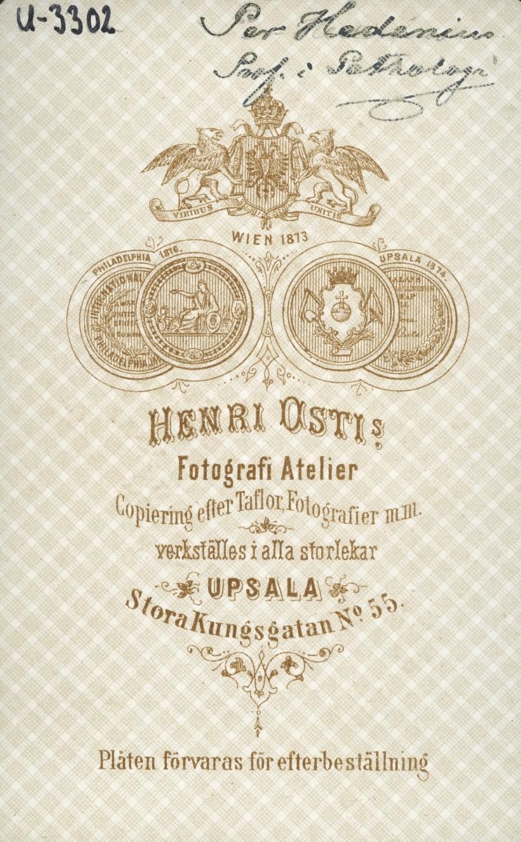 "Professor Anders Peter ""Per"" Hedenius."