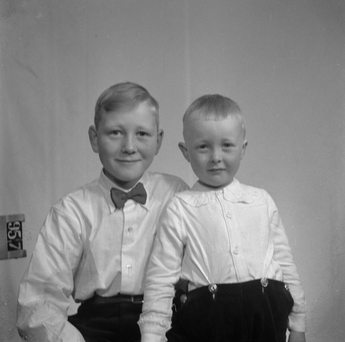 Johan Kulstad med bror