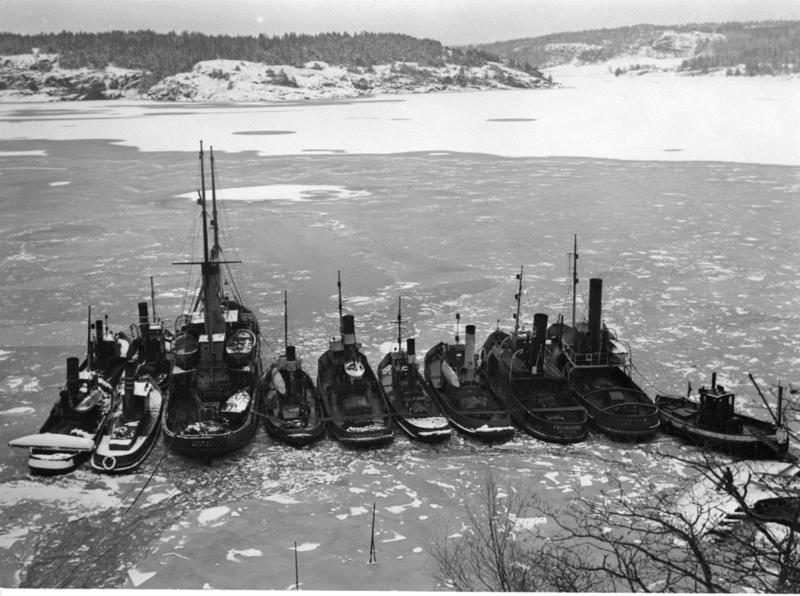 Slepebåter i Lysekil.