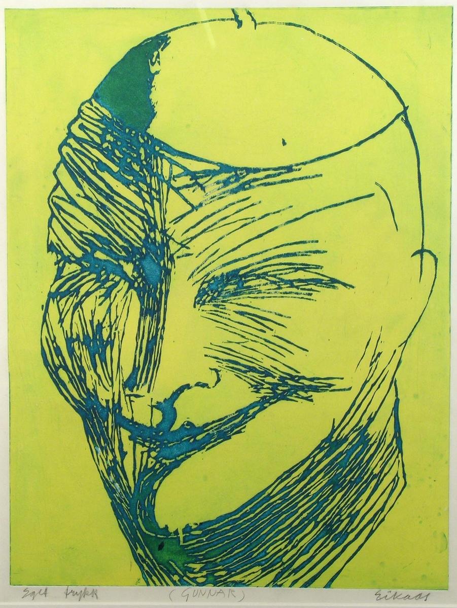 Gunnar (gulgrøn) [Grafikk]