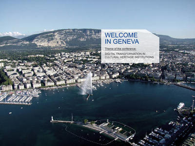 Geneva CODOC 2020 Digital transformation in cultural heritage institutions