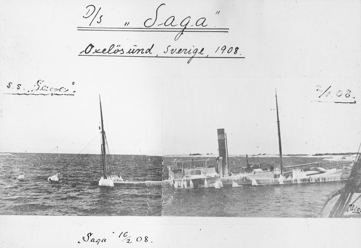 DS SAGA i Sverige 1908.