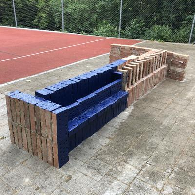 Matias Faldbakken, BRICK SCULPTURE, 2019. (Foto/Photo)