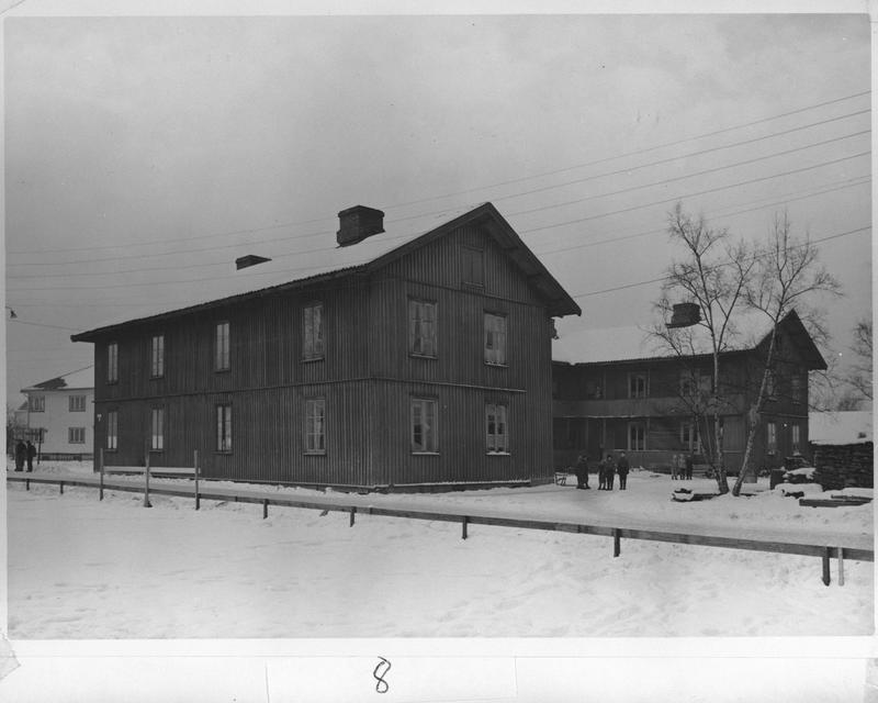 Brandvoldboligen, arbeiderboligen som tilhørte Brannvollsaga på Lillestrøm. (Foto/Photo)