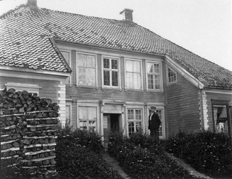 Chrystiegården. Ca 1900