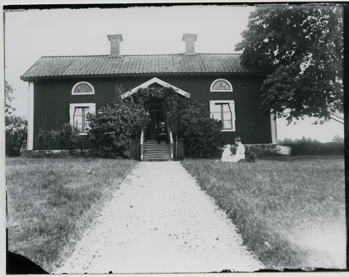 Skinnskatteberg sn, Skinnskattebergs kn, Brahegården. Bostad, c:a 1915.