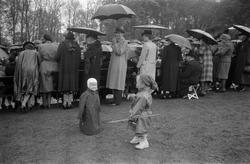 Danskehjelpens utdeling på Tulinløkka 17. mai 1945.