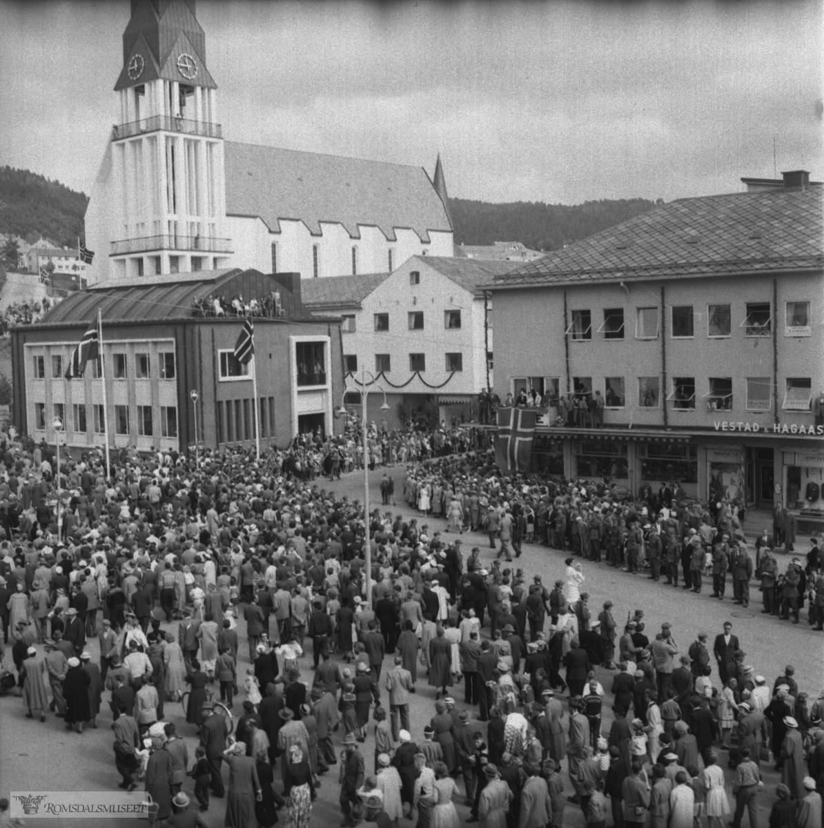 Kongebesøket 24.06.1958.