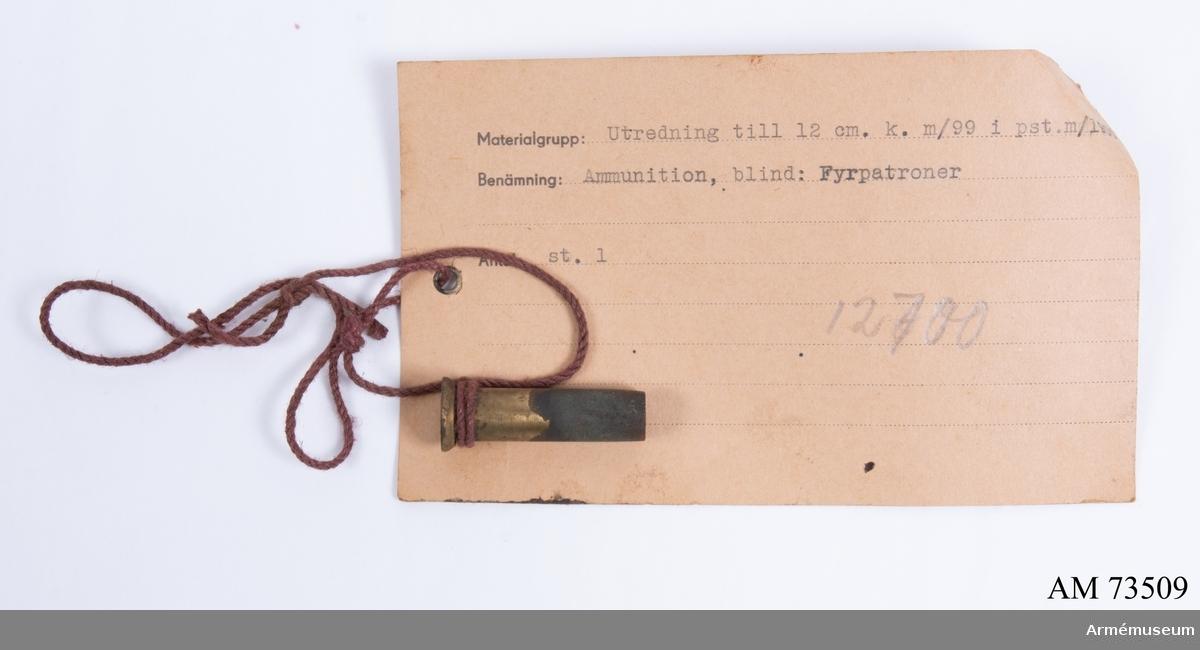 Grupp F.III. Förvaras i Redskapslåda nr 1 (AM.073562).