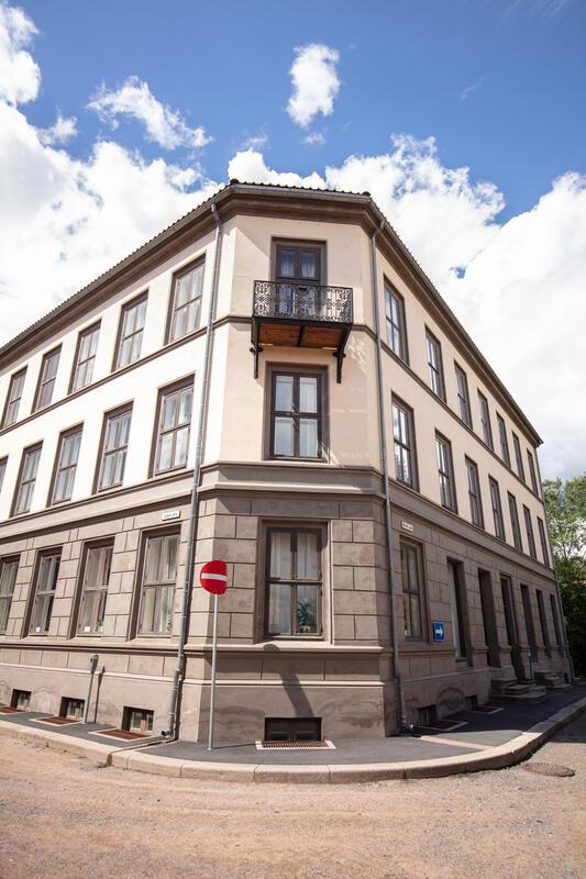 «OBOS-gården -  Wessels gate 15» gjenoppført på Norsk Folkemuseum. (Foto/Photo)