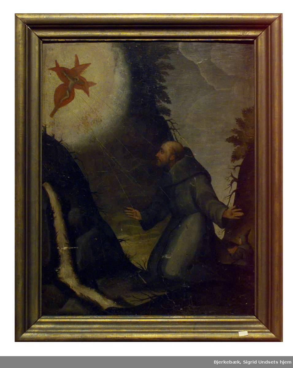 Frans av Assisi - stigmatisering.