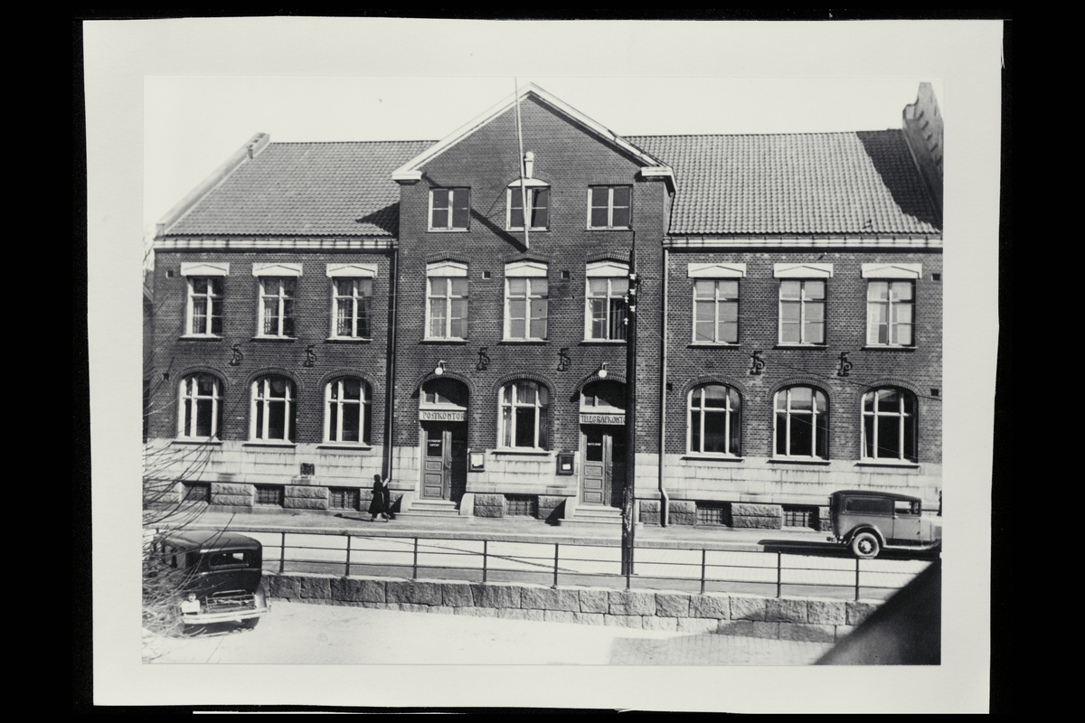 eksteriør, postkontor, 3250 Larvik, postkasse