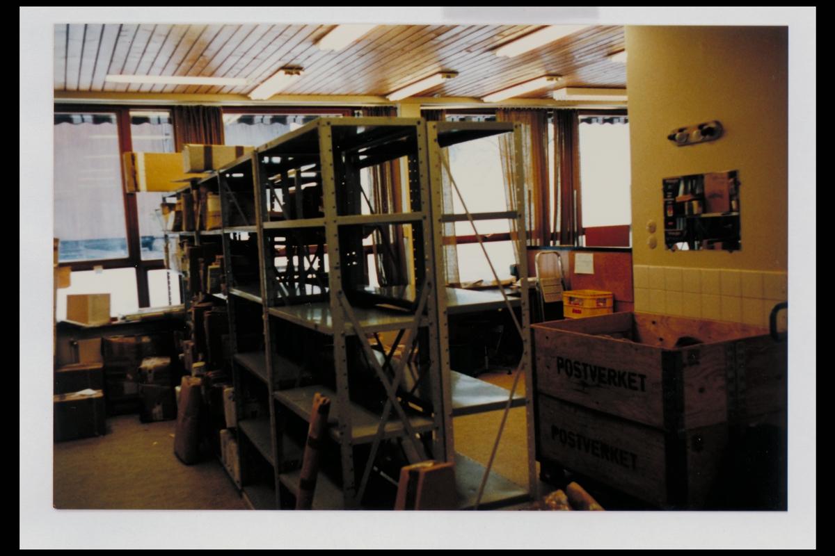 interiør, postkontor, 3600 Kongsberg, pakker