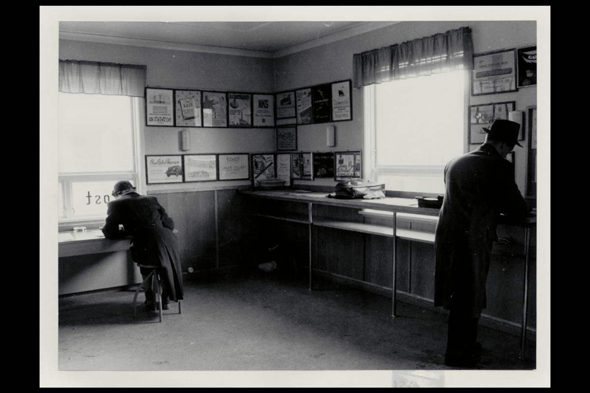 interiør, postkontor, 4300 Sandnes, publikumshall, kunde