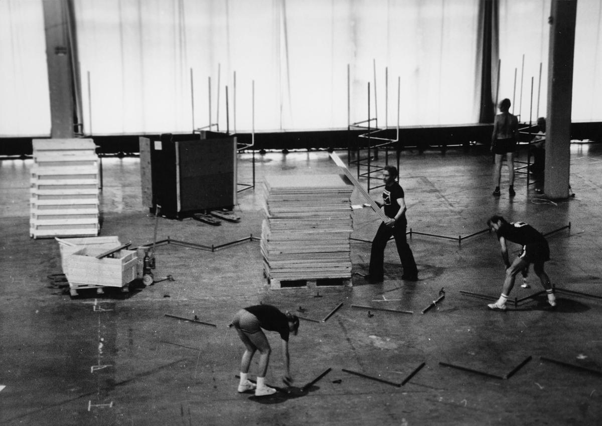 utstilling, Norwex 80, oppbyggningen, menn