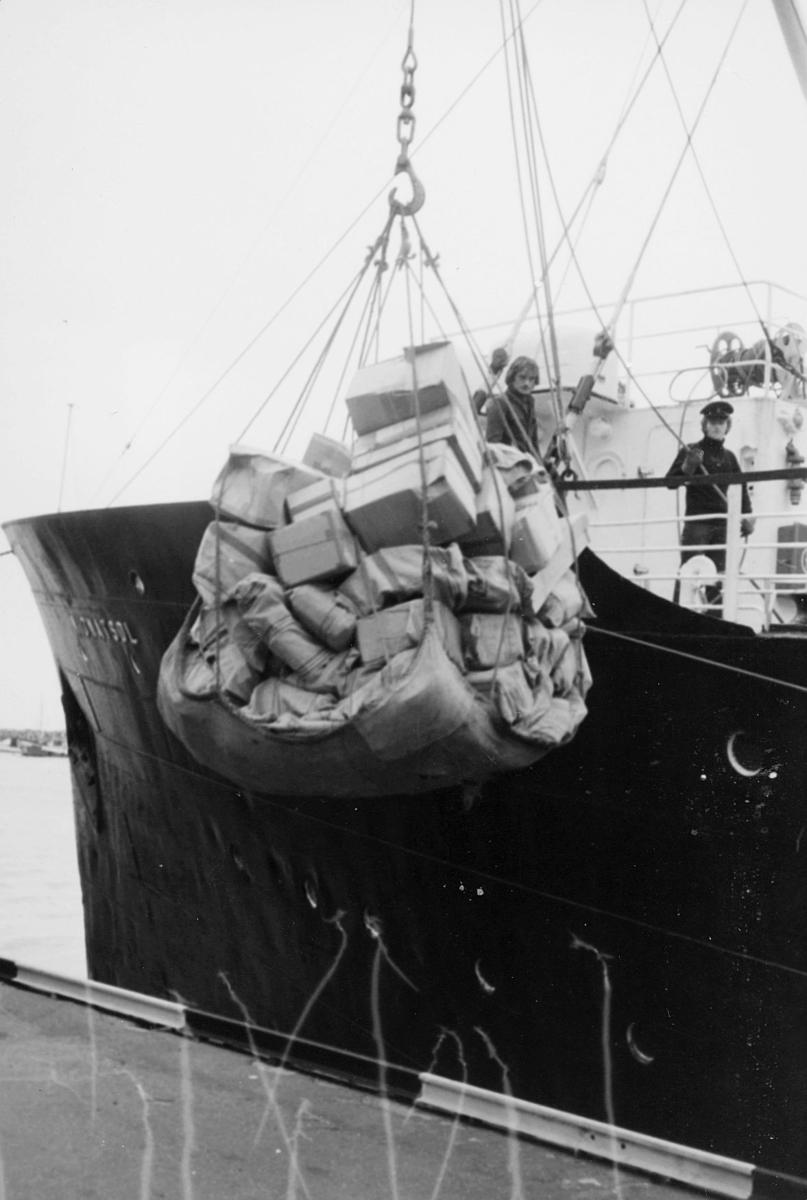 transport, båt, Bodø, eksteriør, lasting, lossing