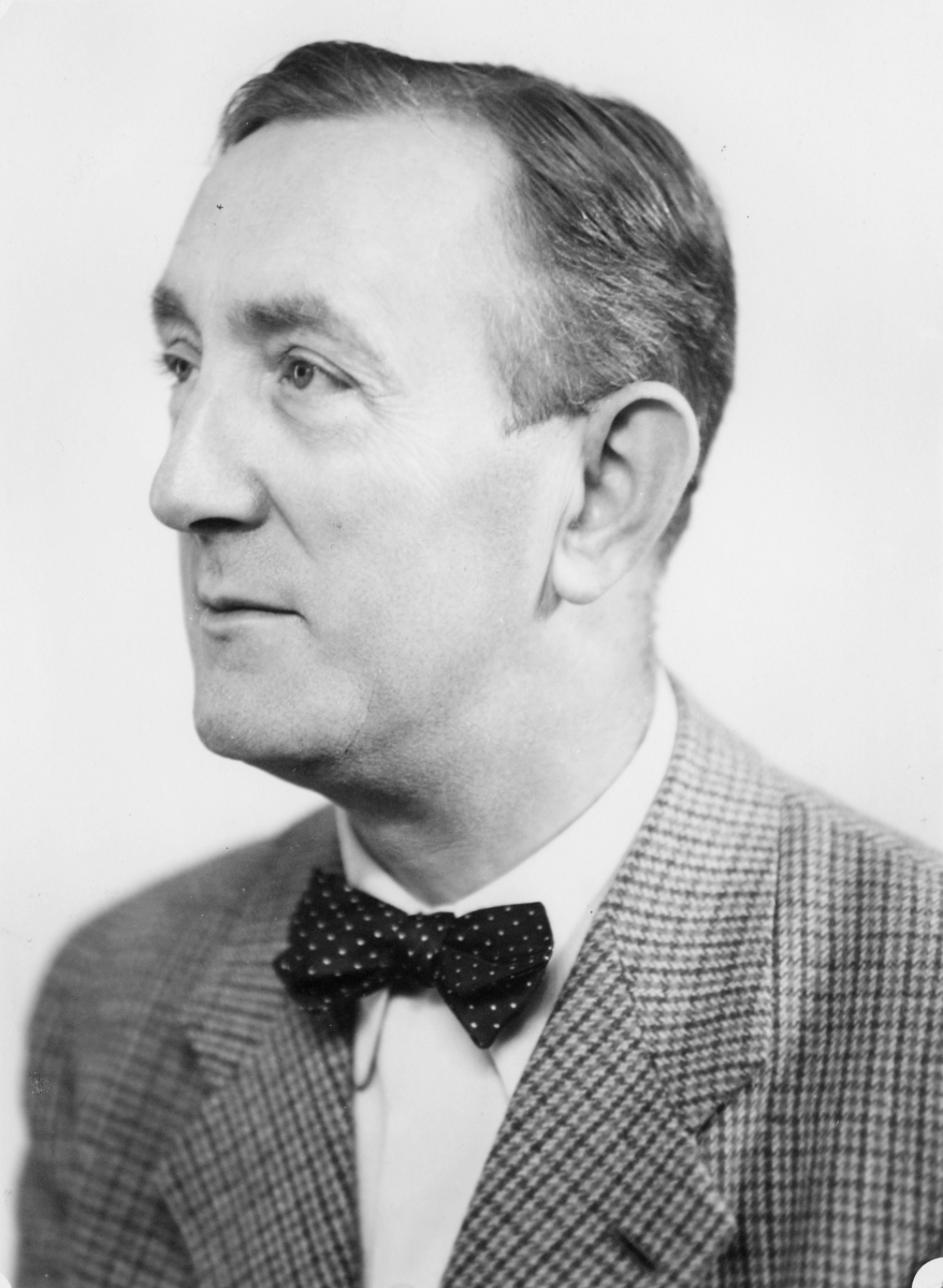 portrett, postmester, Andersen Finn