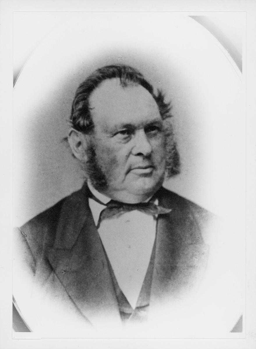 apoteker, postmester, Reimann Jens Astrup, portrett