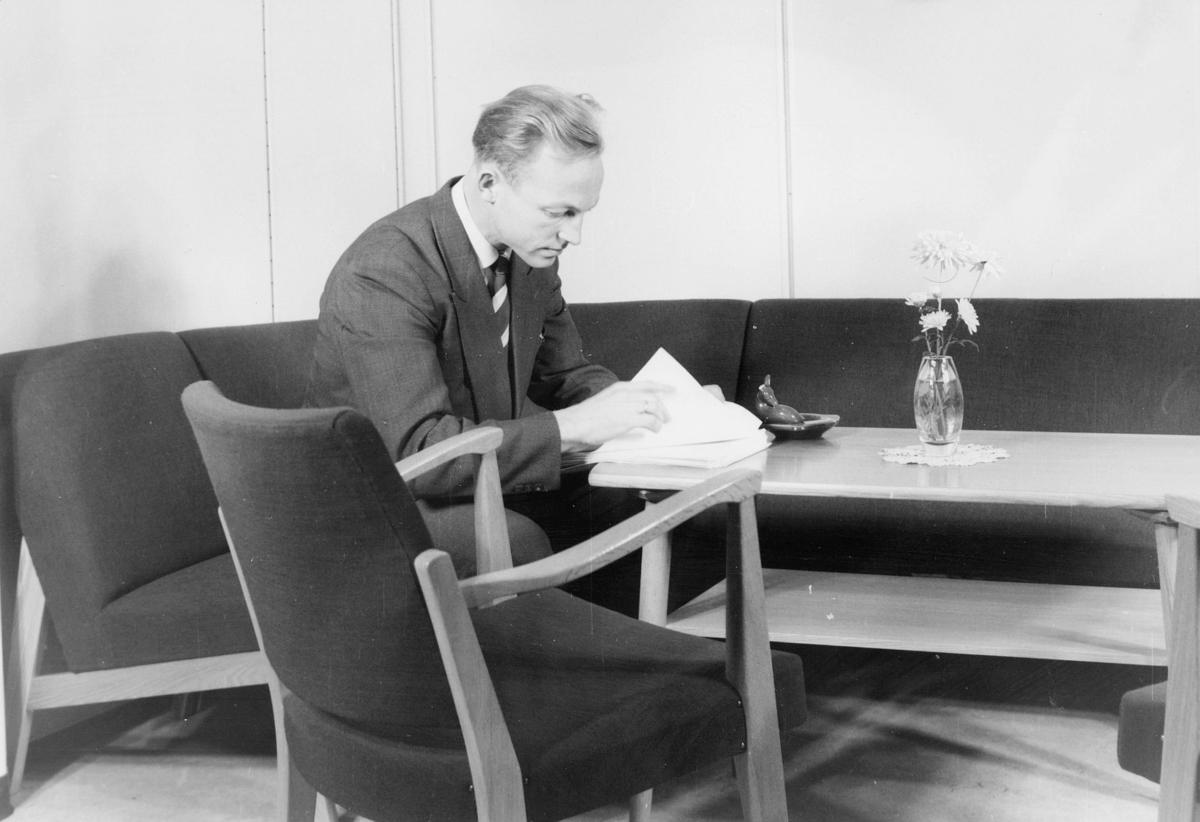 person, postsjef, Lars Myklebust, Hammersborg, interiør, kontor