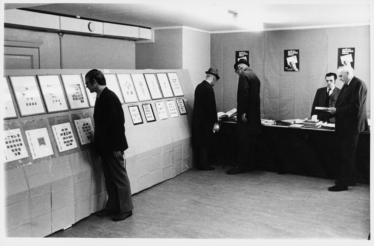 markedsseksjonen, Frimerkets dag '72, 6025 Ålesund, 9. oktober, filateli, 5 menn