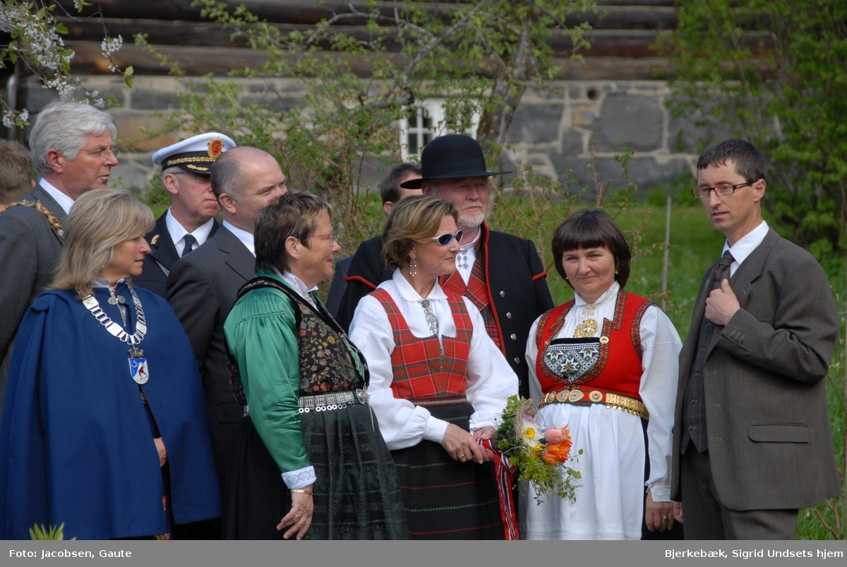 DOK:2007, Bjerkebæk, åpning, HM Dronning Sonja,