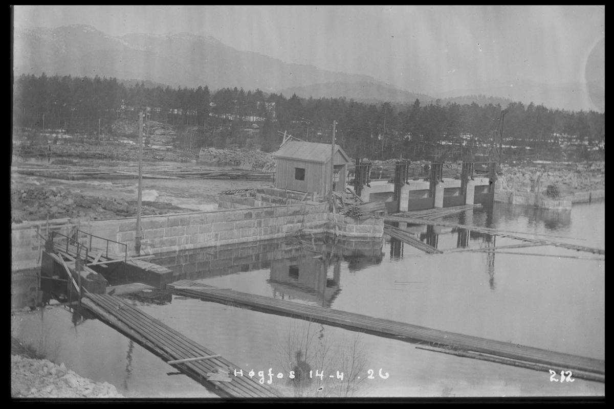 Arendal Fossekompani i begynnelsen av 1900-tallet CD merket 0468, Bilde: 87 Sted: Høgfoss i 1926