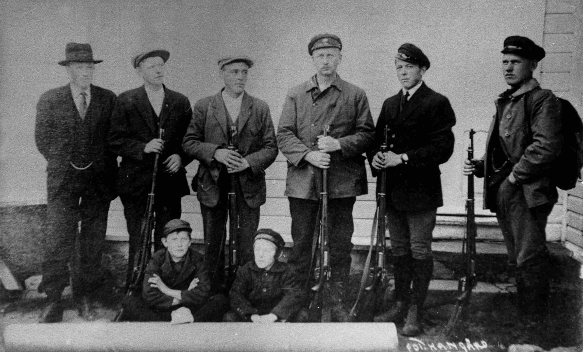 Bilder fra Birkenes kommune Jegere i 1923
