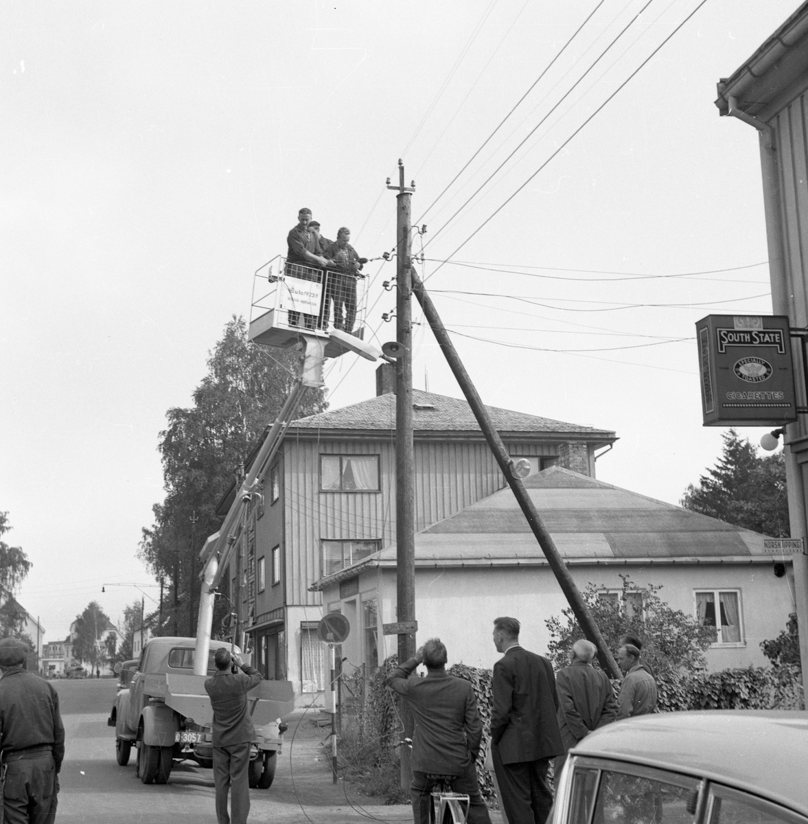 Kykkelsrud, Strømsvn. v/Hoberg. 1956-57.