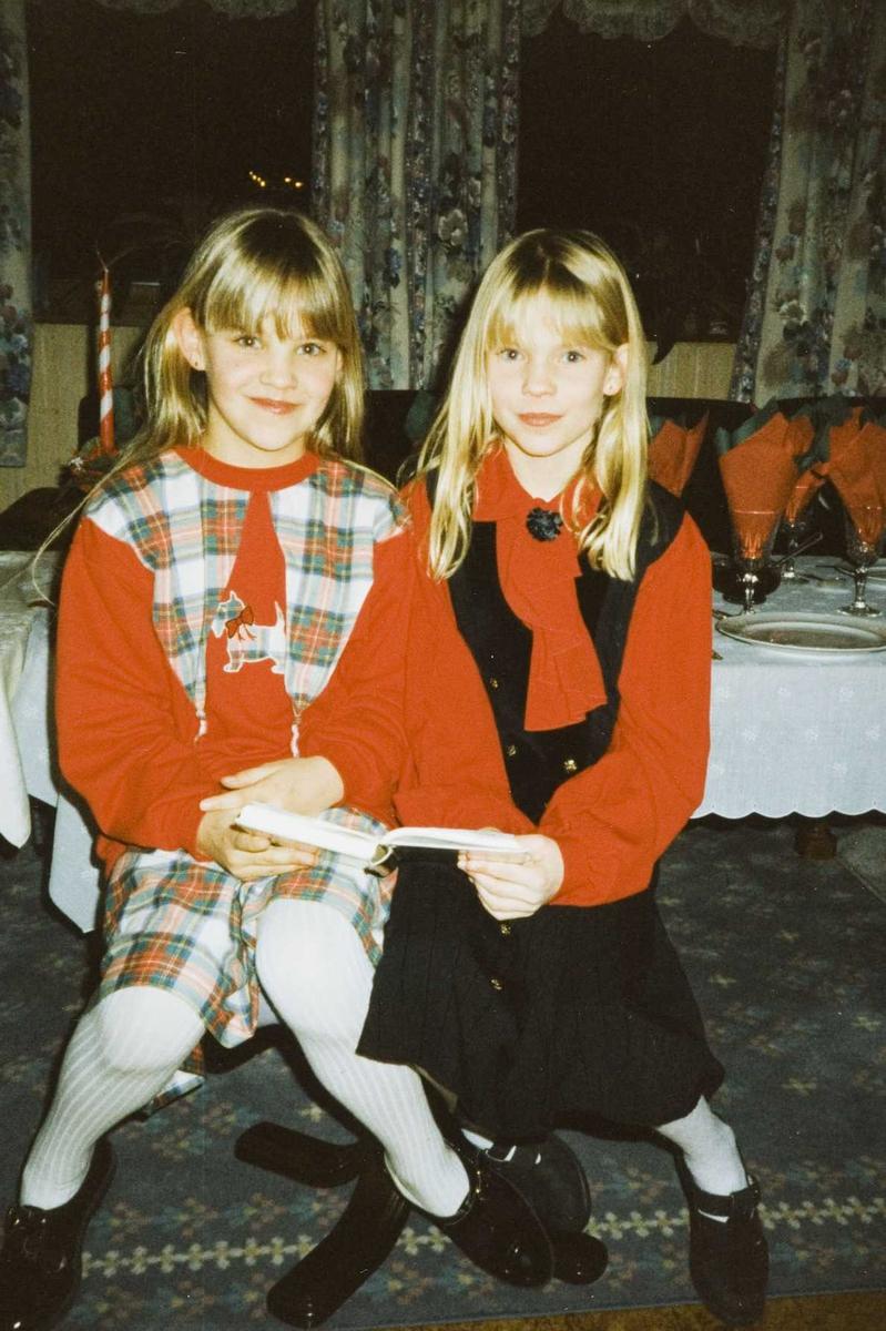 Julen 1995 på Stomperud