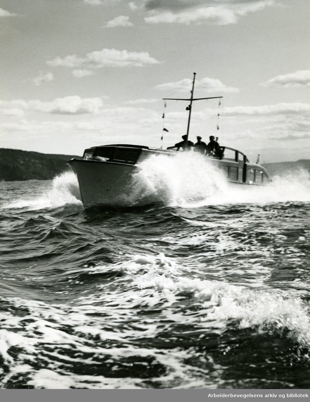 Båtliv i Oslofjorden,.1938