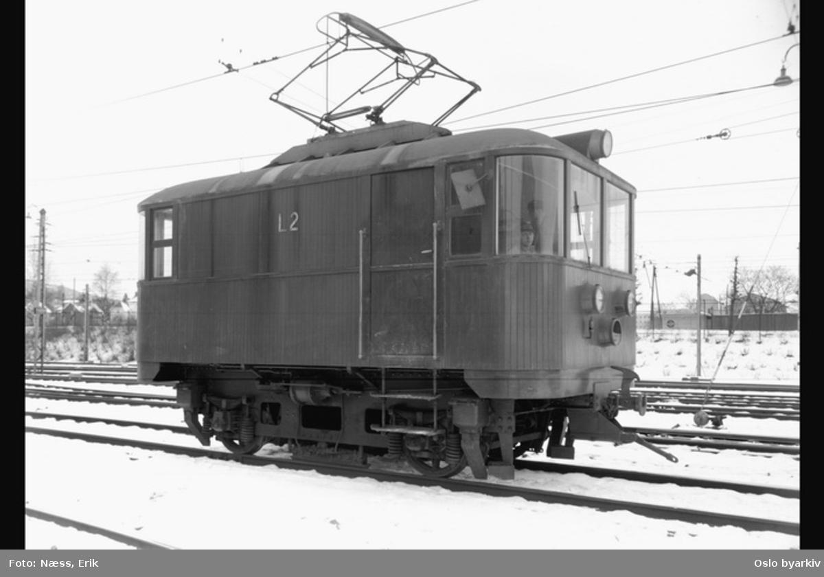 Lokomotiv 2. Holmenkollbanen