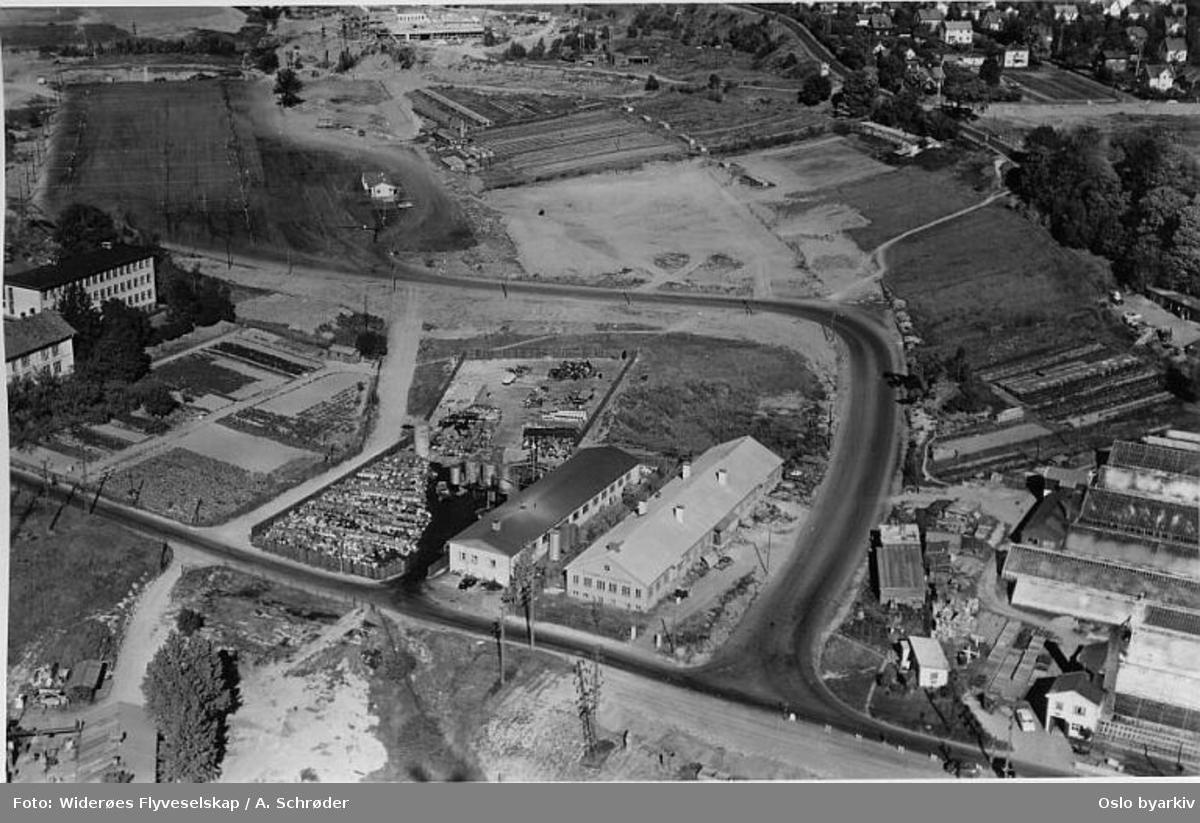 Ulvenveien 66, Økern (Flyfoto)