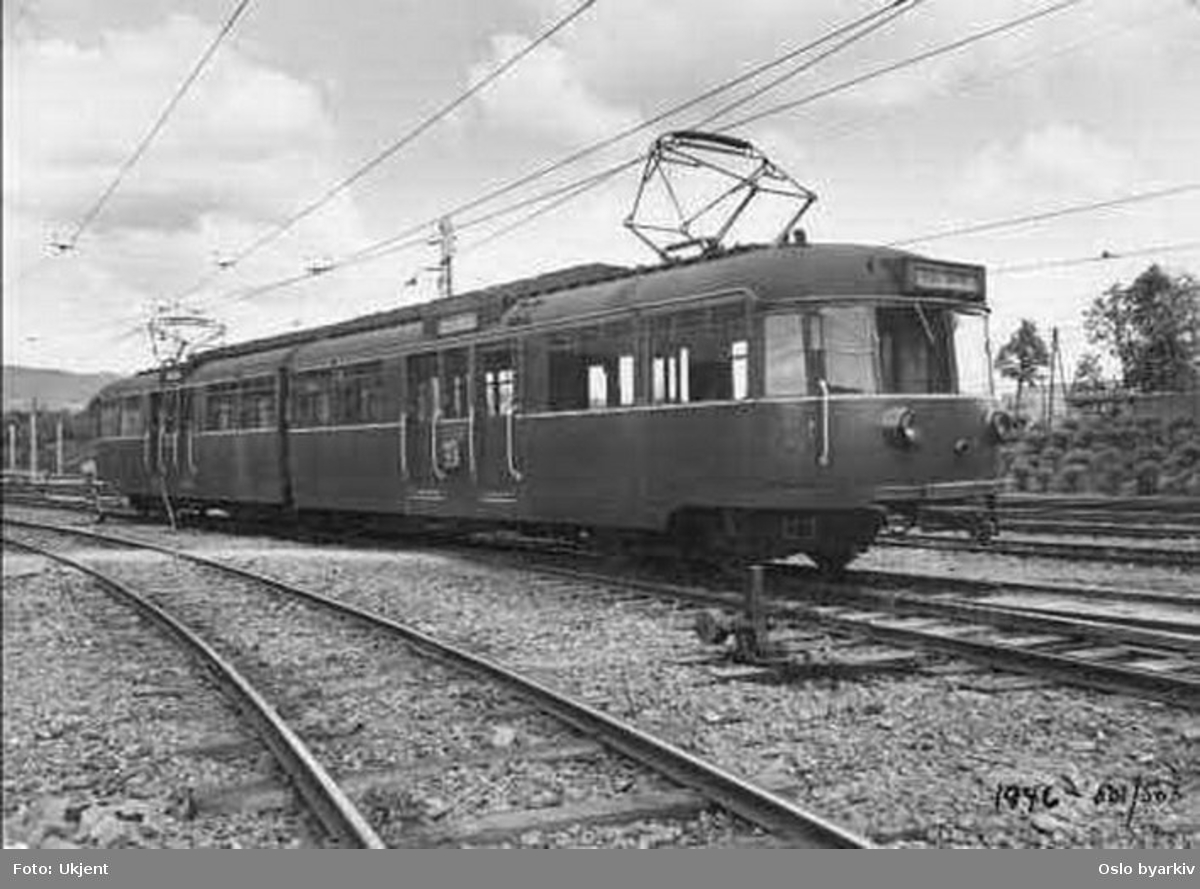 Holmenkollbanen, 501-503 typebilde.