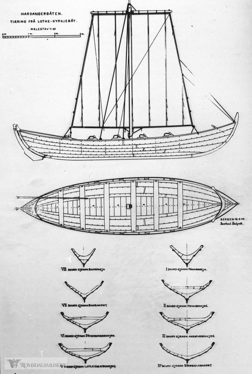 Hardangerbåten.